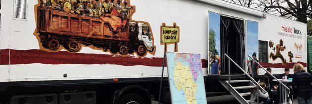 Kiju holte den Missio-Truck nach Neheim